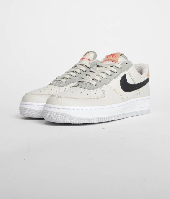 buy popular a8892 24dd8 Nike Air Force 1  07 Light Bone Black - Maha Amsterdam