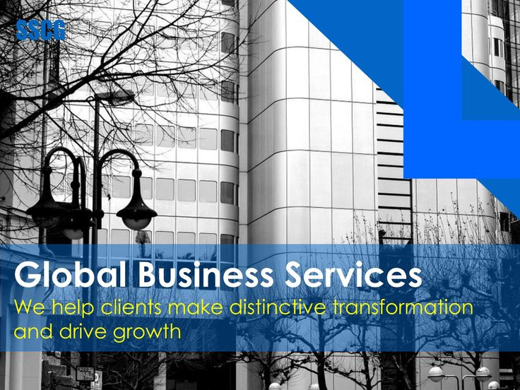 SSCG Global Business Services (GBS)