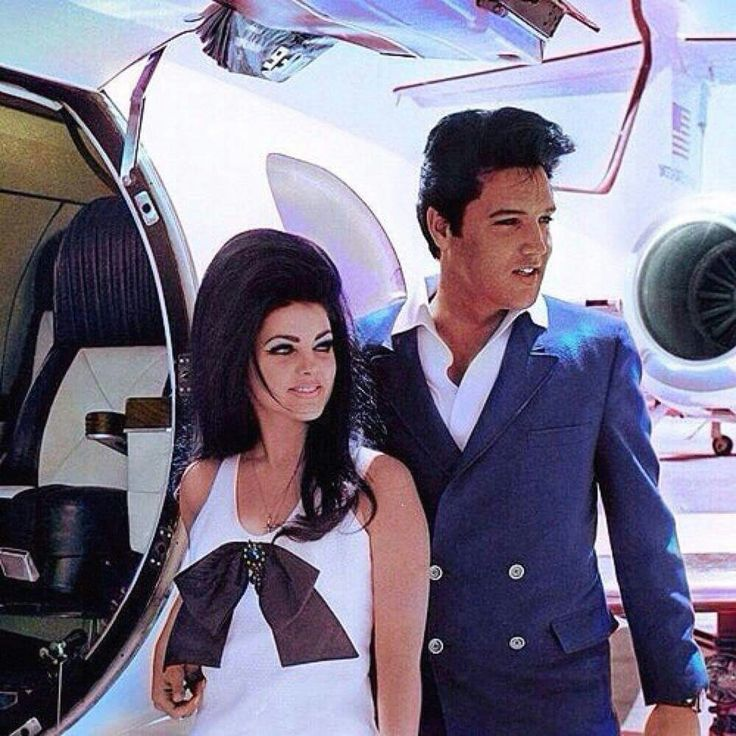 May 1967  Elvis and Priscilla  - Honeymooners - ❤❤