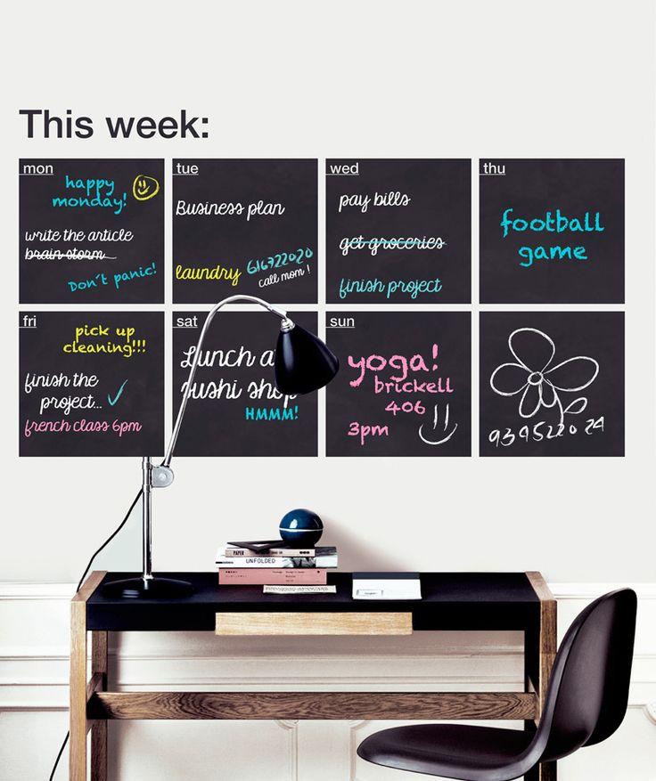 Regalos que encantan: .Pizarra This Week Myvinilo en Dekosas.