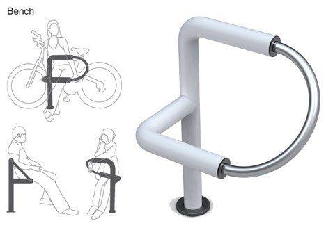 P+ bike system, mobilier urbain pour cycliste