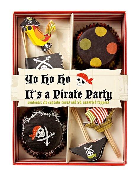 Cupcake kit - Pirate