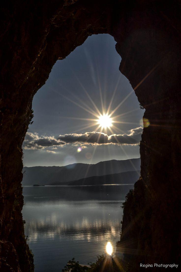 με θέα τις Πρέσπες- view to Prespes lake, Greece