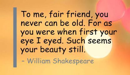 beauty quote from william shakespeare beauty tips