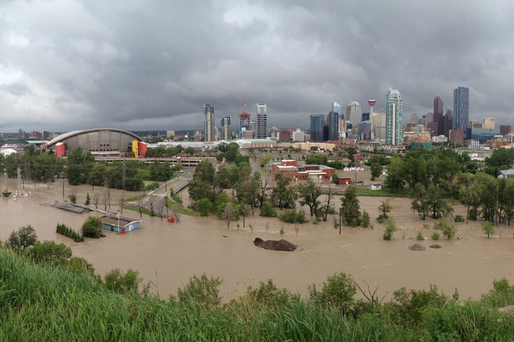 Stamped Park and Saddledome
