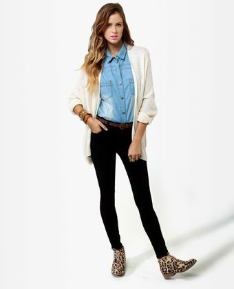 Level 99 Tanya Hi-Rise Skinny Jeggings - Black Jeggings - Black Skinny Jeans - $114.00