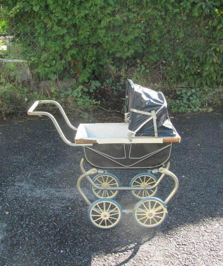 Details about Vintage Antique Baby or Doll Carriage