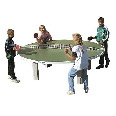 """runder Tischtennistisch: Sport-Thieme® Polymerbeton-Tischtennis-Tisch """"Rondo"""""""