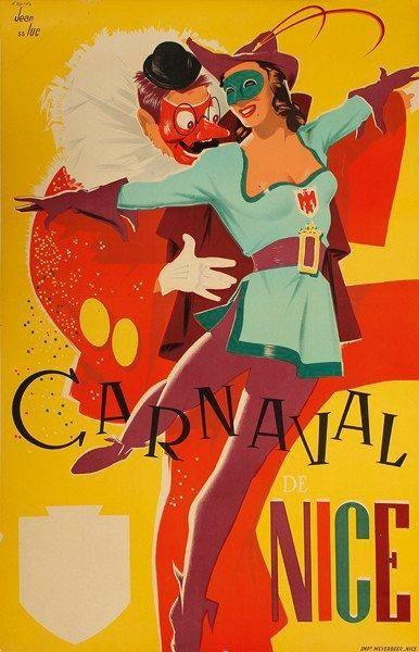 Carnaval de Nice - 1955 -