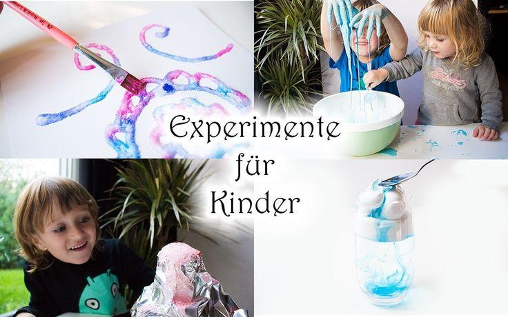 4 Experimente für Kinder mit Wow-Effekt – SpielRaum2 Zwei