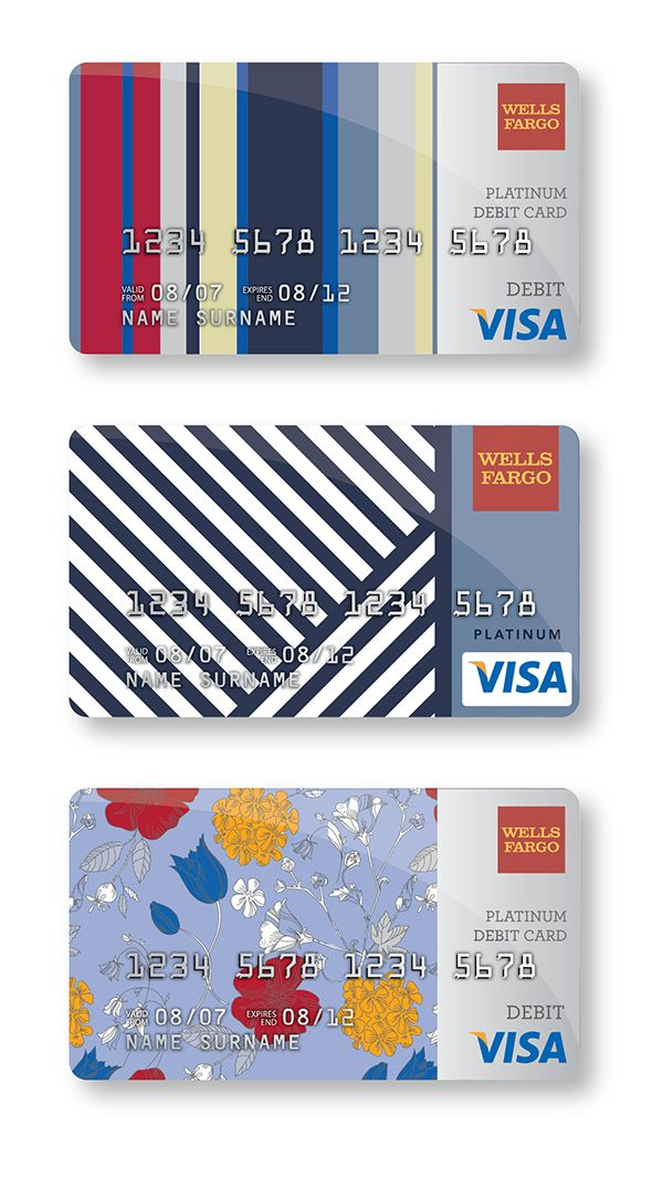 credit card design on Behance