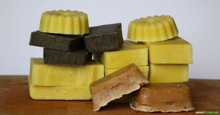 Erfolgreich Seife herstellen: Möchtest du deine eigene Seife selber machen? Hier ist eine Schritt-für-Schritt-Anleitung zum Sieden deiner Naturseife.