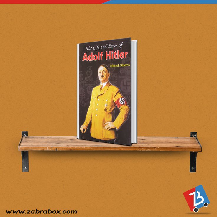 Autobiographies of famous and inspiring people are must keep for every book lover. Your collection is incomplete without them. Buy them now online. Autobiography of Adolf Hitler #Books #BookLover #Autobiography #Biography #BuyNow#BuyOnline