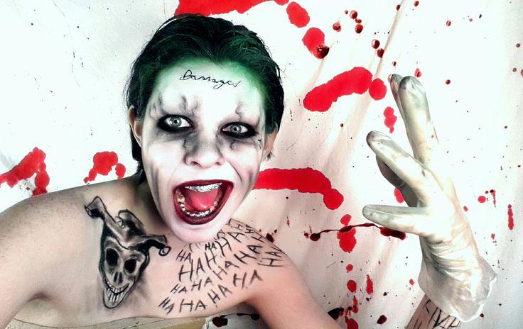 MakeUp: Suicide Squad Joker