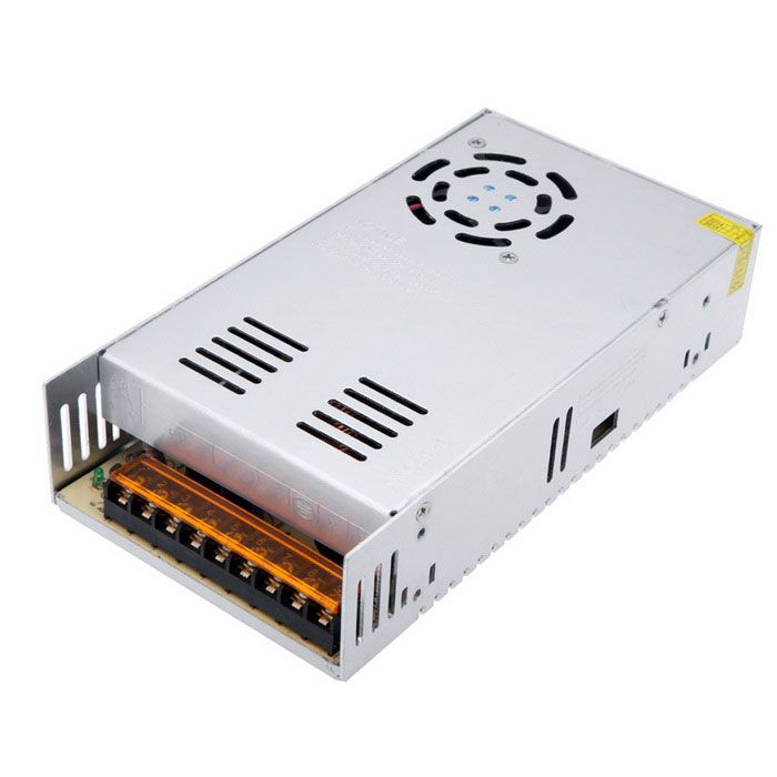 AC 110V / 220V to DC Output 12V 30A 360W Switching Power Supply for LED - Metal Grey. 1. High efficiency, long life 2. Low DC ripple, high efficiency 3. Low operation temperature & long performance life 4. Excellent insulation property, high dielectric strength 5. 100% full-load burning test. Tags: #Electrical #Tools #Switches #Adapters