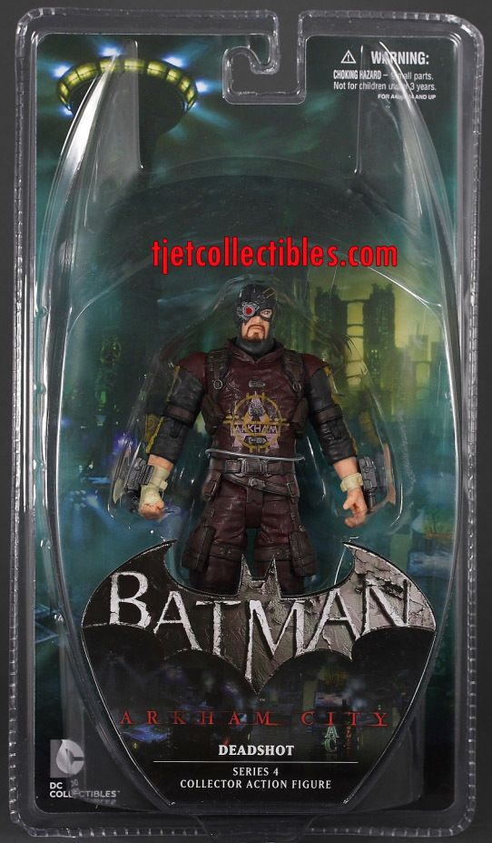 Deadshot Batman Arkham City Series 4 Action Figure DC Collectibles 2013 | eBay
