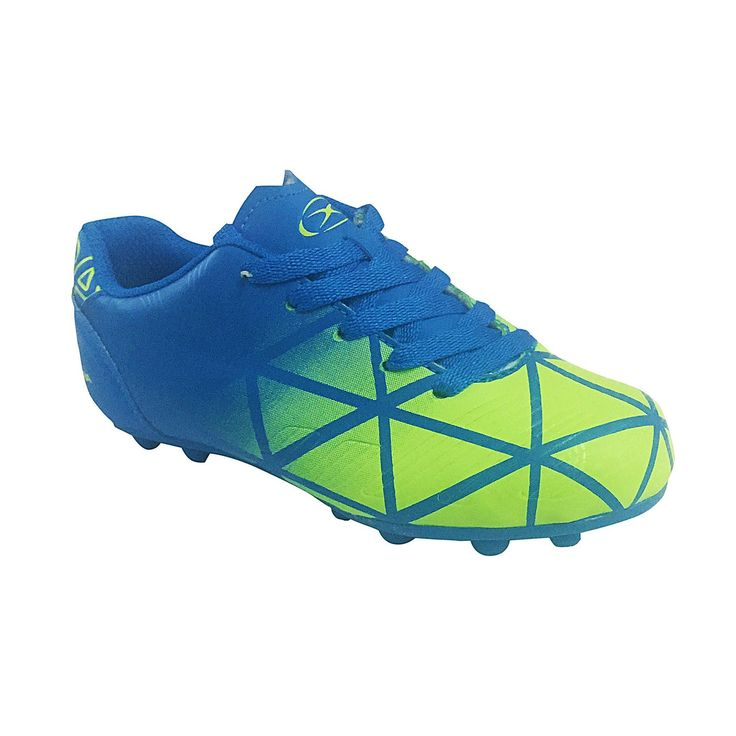 These Xara Illusion kids soccer cleats are great for the safety of the soccer player. åÊThe kids soccer shoes has a 14 point cleat configuration for even weight distribution, along with providing bett