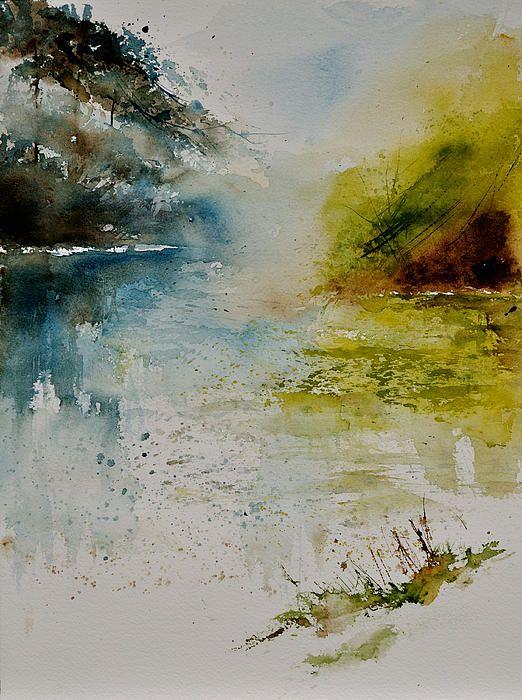 watercolor: Artist Pledent, Art Watercolor, Artist Pol Lendent, Art Paintings, Watercolor 42465, Art Prints, Artistically Inclined, Pol Ledent, 42465 Print
