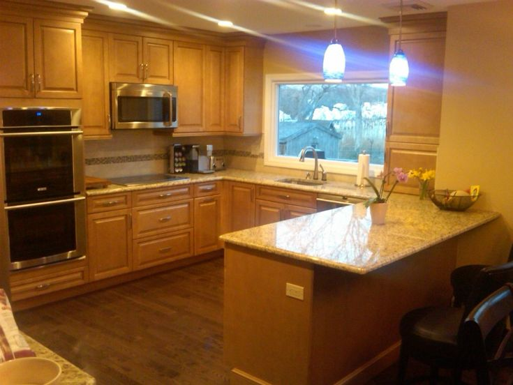 10 best our kitchen remodel work images on pinterest for Updated kitchen remodels
