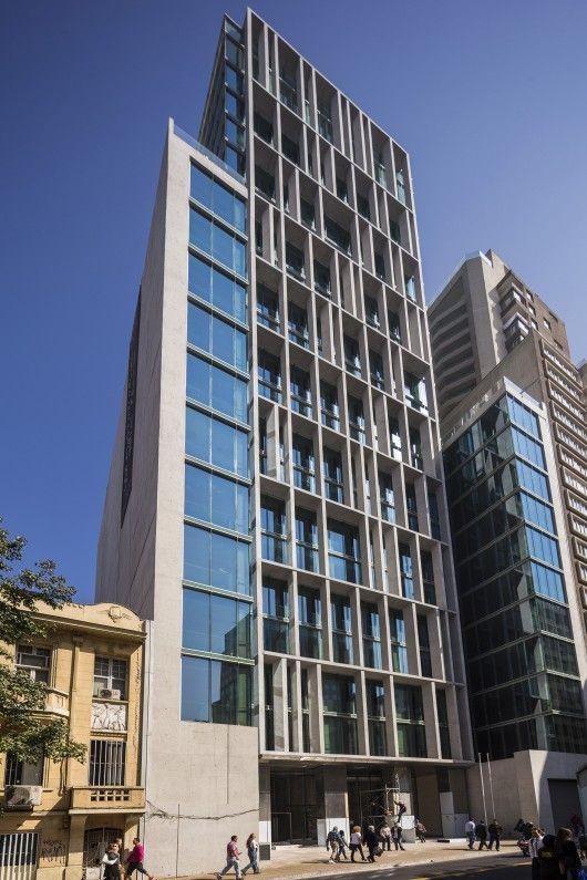 Amunategui Building Alemparte Morelli Y Asociados Arquitectos Patterns Balconies And Santiago