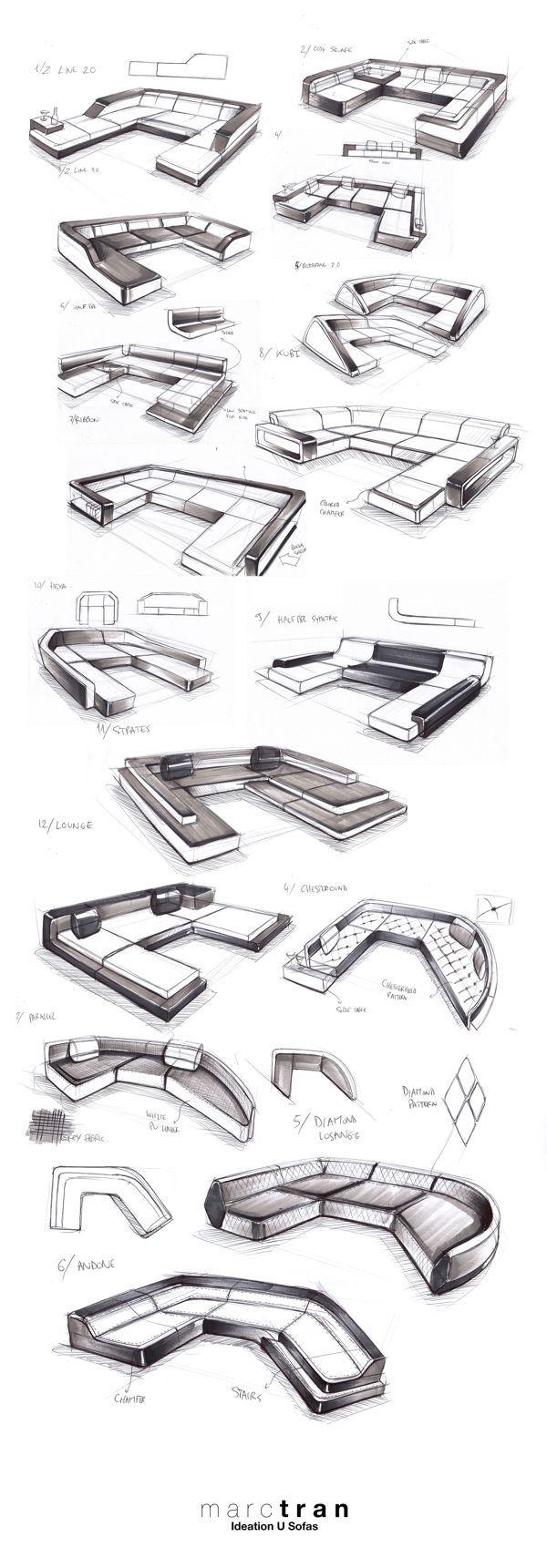 63 best product design sketches images on pinterest product design sketching product sketch for Sofa design sketch