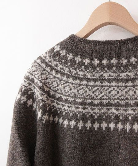 Yoke Nordic Sweater Pattern 88