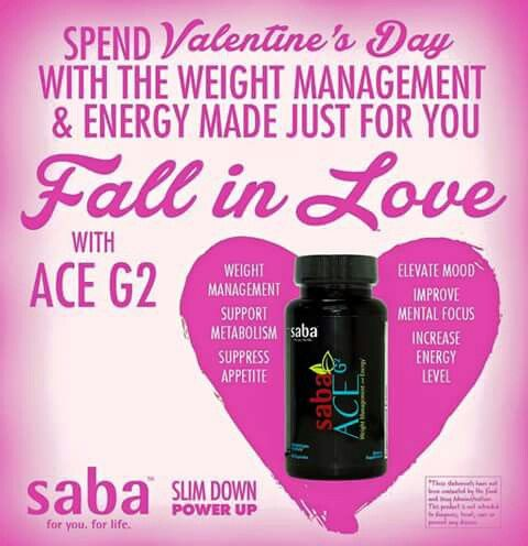I am so in LOVE with Saba's ACE G2. I have lost 14 lbs since January 4th. My meal portions have become smaller and healthier choices. For example, my family is having Spaghetti tonight...well so am I accept my noodles are spaghetti squash style. I can't wait to enjoy this meal. Get Saba ACE G2 into your hands by ordering at www.sabaforlife.com/newyouwithSaba60
