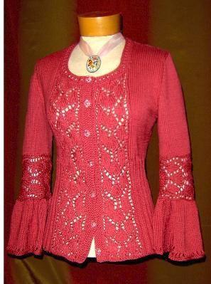Adrienne knitting pattern from White Lies Designs