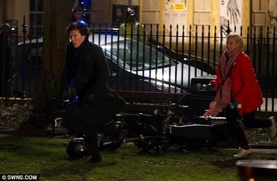 Sherlock BBC Brasil: The Empty Hearse - Spoilers do primeiro episódio da terceira temporada de Sherlock/Shooting third season