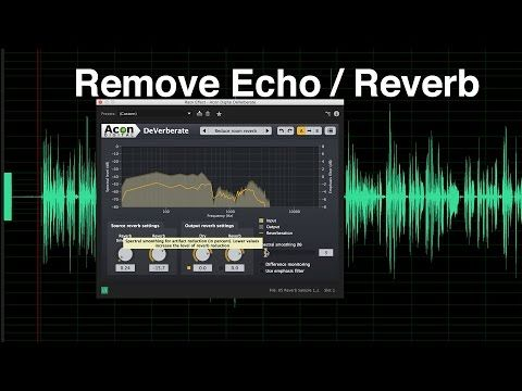 Remove Echo and Reverb from Dialogue Audio - YouTube