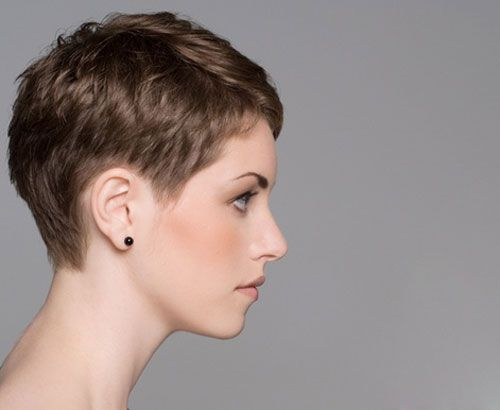 Pixie Cut Side View