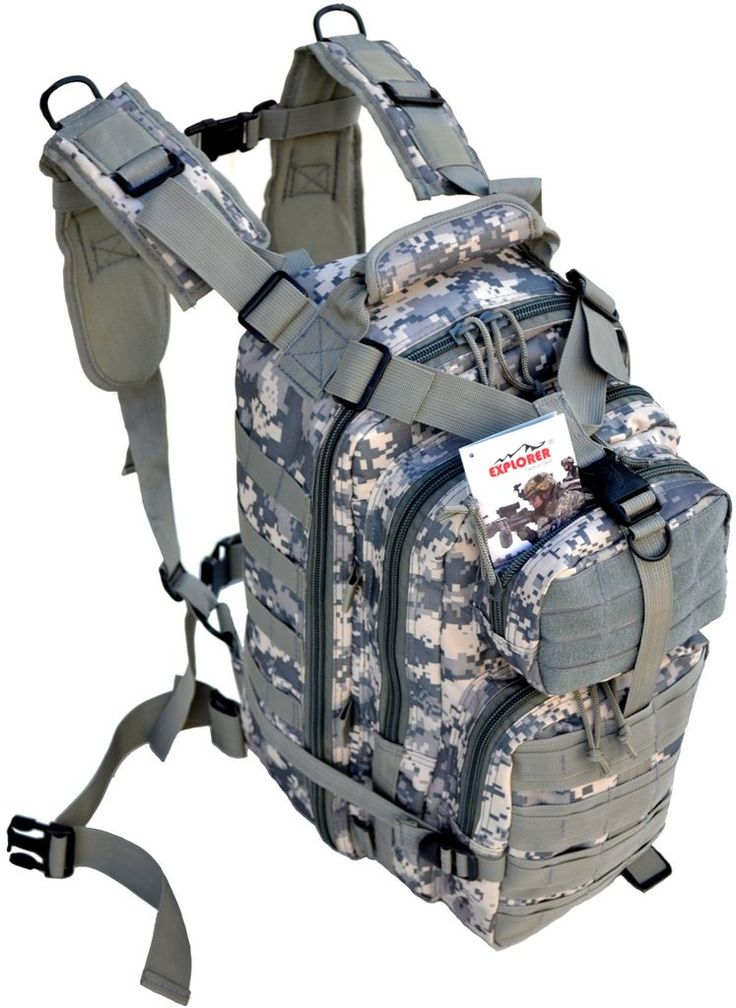 Outdoor Military Tactical Assault Backpack with Molle - Bug-Out-Bag - TACTICAL R US