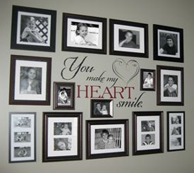 1000+ ideas about Family Picture Walls on Pinterest | Picture ...