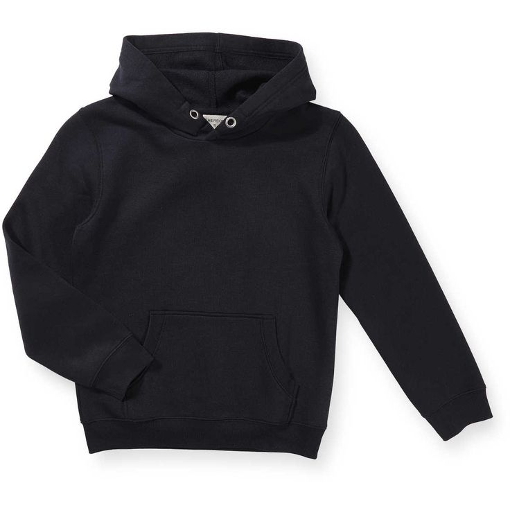 The Emerson Junior Boys Hooded Sweat is a staple style in every boy's wardrobe. This plain pullover sweatshirt is made from a comfy cotton blend and finished with soft fleece backing for extra warmth. Sporty ribbed trimming and a slouchy kangaroo pocket complete this easy to wear cool-weather essential.