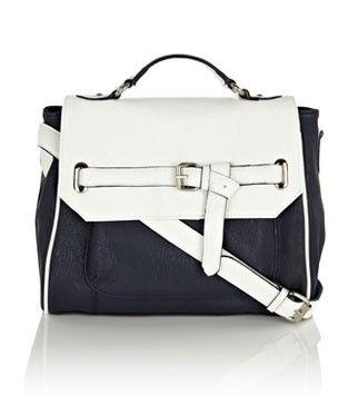 Oasis two-tone handbag