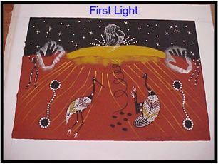 Aboriginal Dreamtime Stories - How the Sun was Made