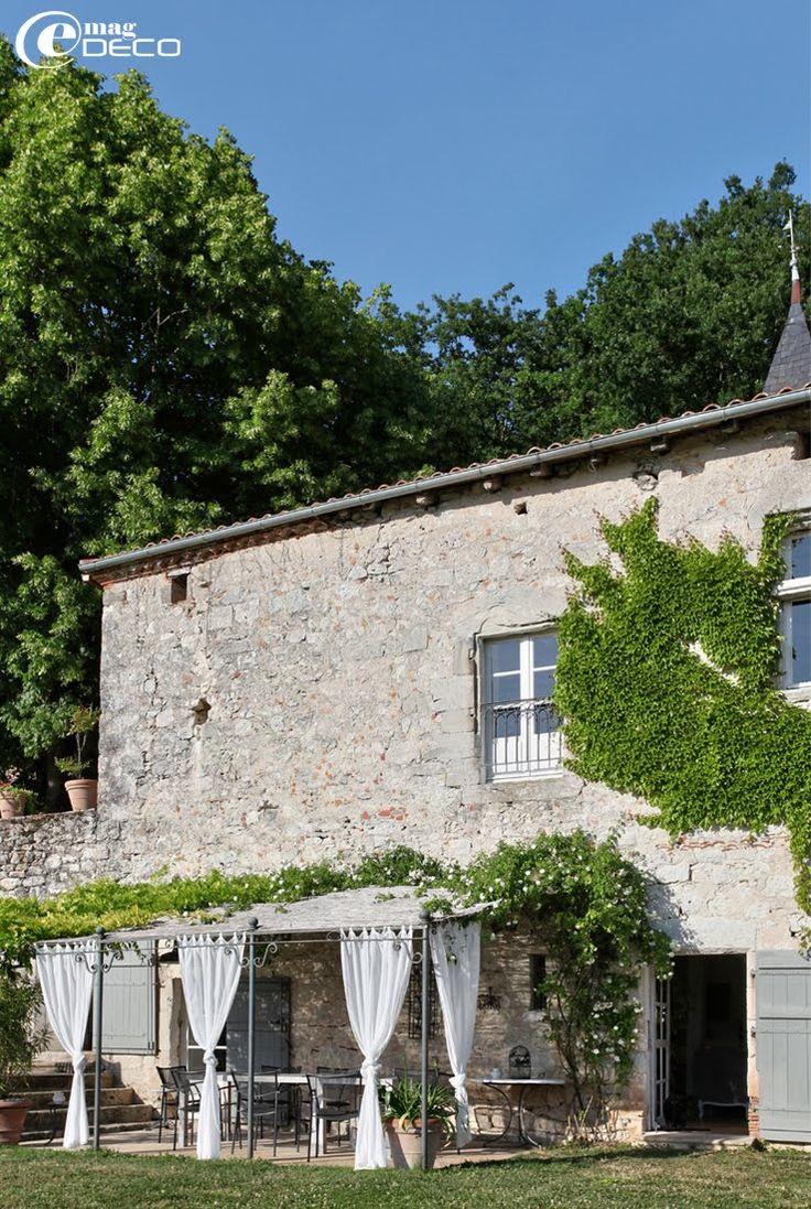 Façade du Relais de Roquefereau, maison d'hôtes dans le Lot-et-Garonne