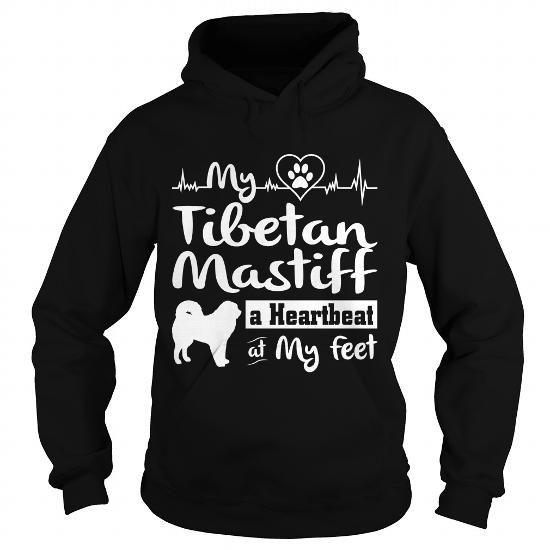 Cool My Tibetan Mastiff a Heartbeat at My Feet Shirt; Tee