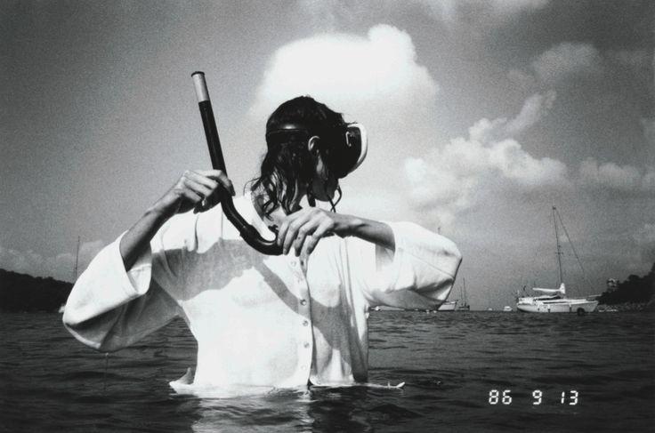 Le Cardigan Pression - Agnès B by Jean-Baptiste Mondino 1994