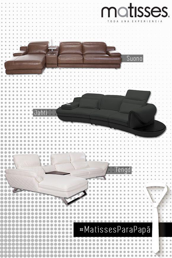 Participa contándonos cuál de estos sofás seccionales tiene el estilo de tu papá. #MatissesParaPapá Para ver más diseños ingresa a -->> http://www.matisses.co/20-sofas