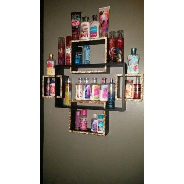 DIY Room inspiration Decor DIY tips of organize your Makeup Storage found on Polyvore featuring polyvore