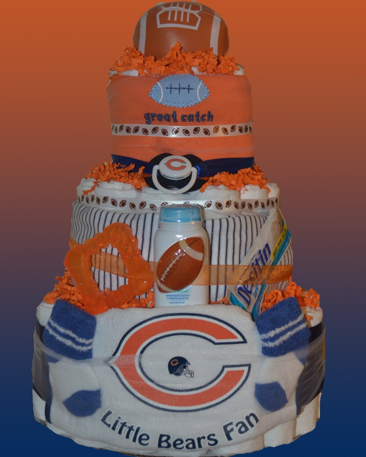 Best 25+ Chicago Bears Cake Ideas On Pinterest