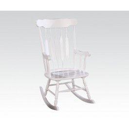 ACMEF59224-White Rocking Chair