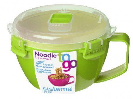 Sistema Noodle Bowl to Go 31.79 oz/940 ml by Sistema - Green Noodle To Go http://www.amazon.co.uk/dp/B01B6SG6UW/ref=cm_sw_r_pi_dp_UmLWwb1QKA13V