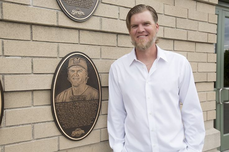 Corey Hart is now park of the Brewers Wall of Fame.