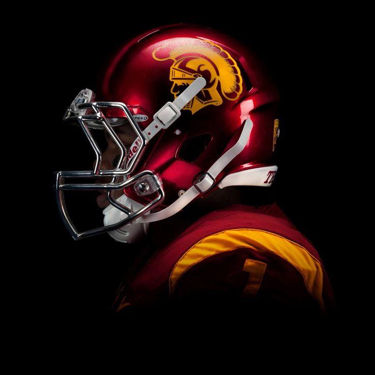 New USC Trojans football helmets!!!!! FIGHT ON!!