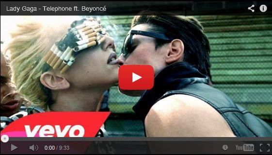 Watch: Lady Gaga - Telephone ft. Beyoncé See lyrics here: http://ladygaga-lyrics.blogspot.com/2012/04/telephone-lyrics-lady-gaga-feat-beyonce.html #lyricsdome