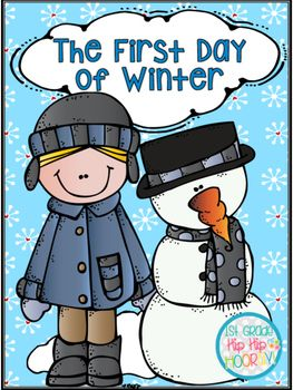 "Even if ""winter"" does not include ""snow"" in your area it is a tremendous opportunity for teachers to talk with their class about ""winter solstice"" known as...THE FIRST DAY OF WINTER.Using Denise Fleming's book The First Day of Winter kiddos will enjoy...Colorful Vocabulary for postingWord SearchInformational text on the first day of winterUsing ordinal numbers...first, second, third...cut an match to itemsWriting a paragraph about winter and snowGraphic organizers for preparing to…"