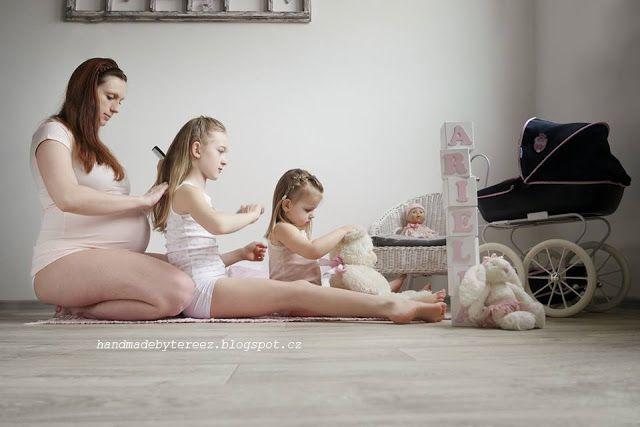Pregnancy photo ... our third princess ... ARiELLA <3