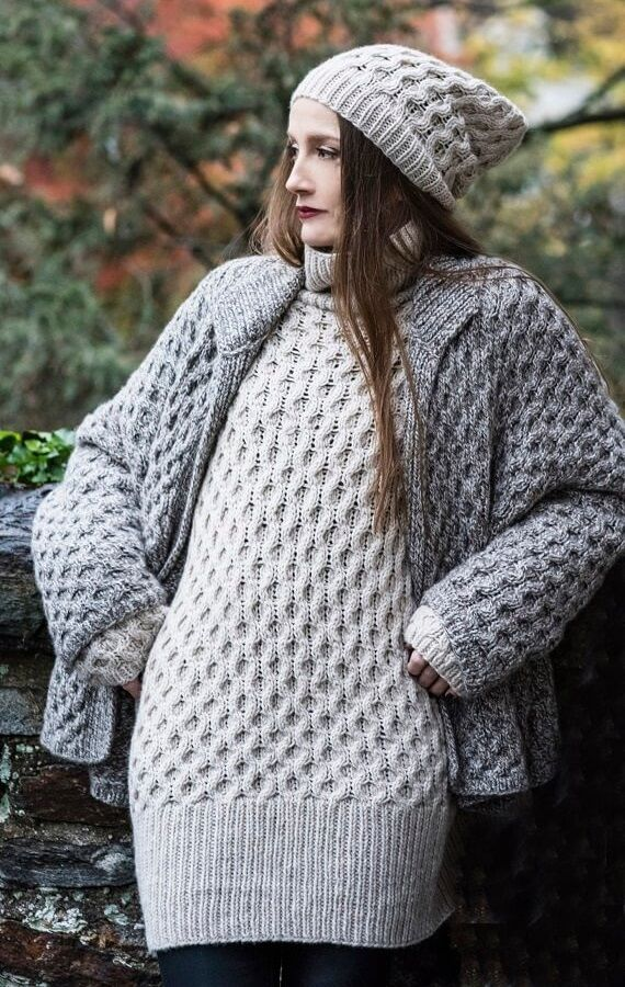 Tozi Sweater & Tozi Cardigan HANIA by Anya Cole Fall 2016